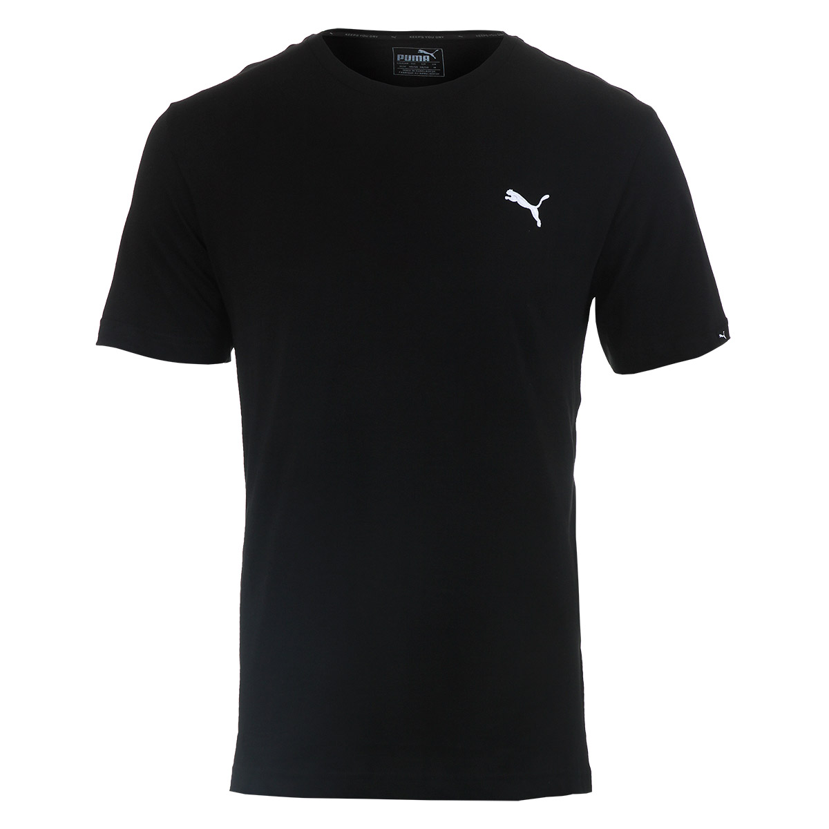 Camiseta Masc. Puma Ess Tee - Preto