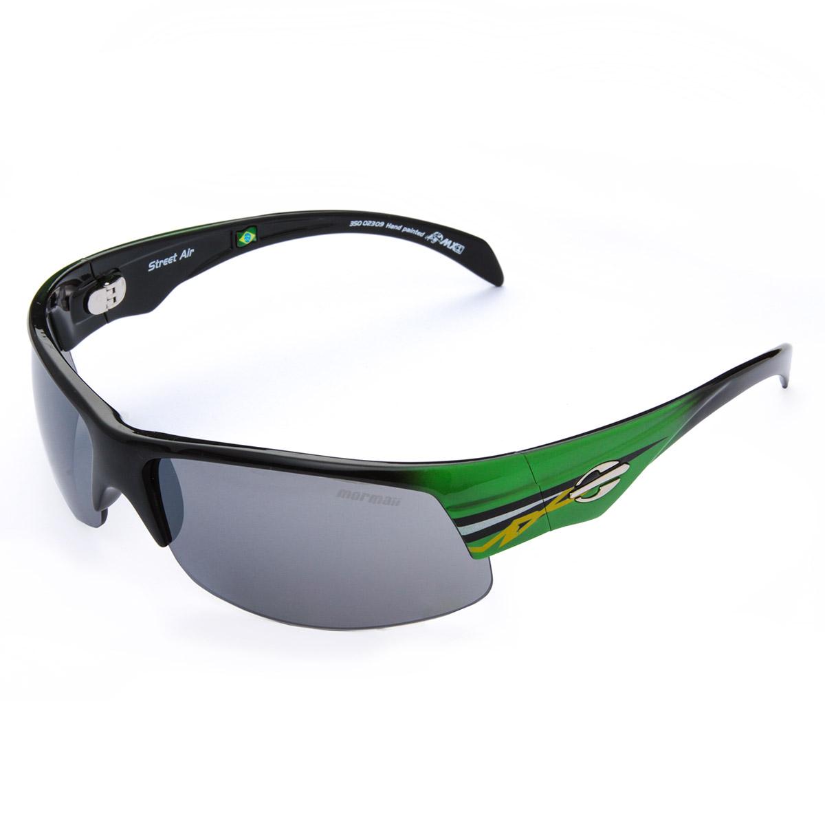 134652eecdd88 Óculos De Sol Mormaii Street Air - Verde Cinza