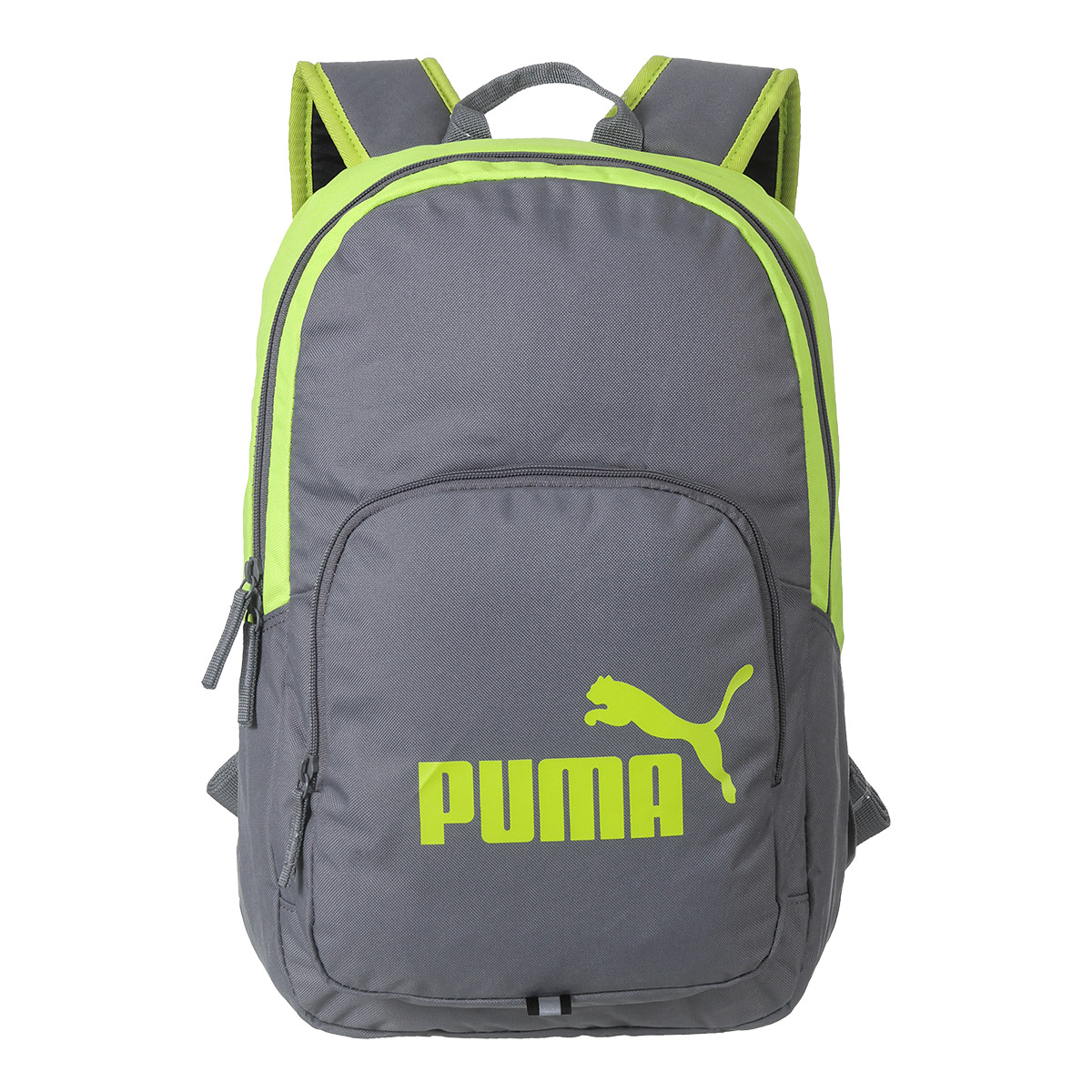Mochila Puma Phase Unissex - Verde Limão/Cinza