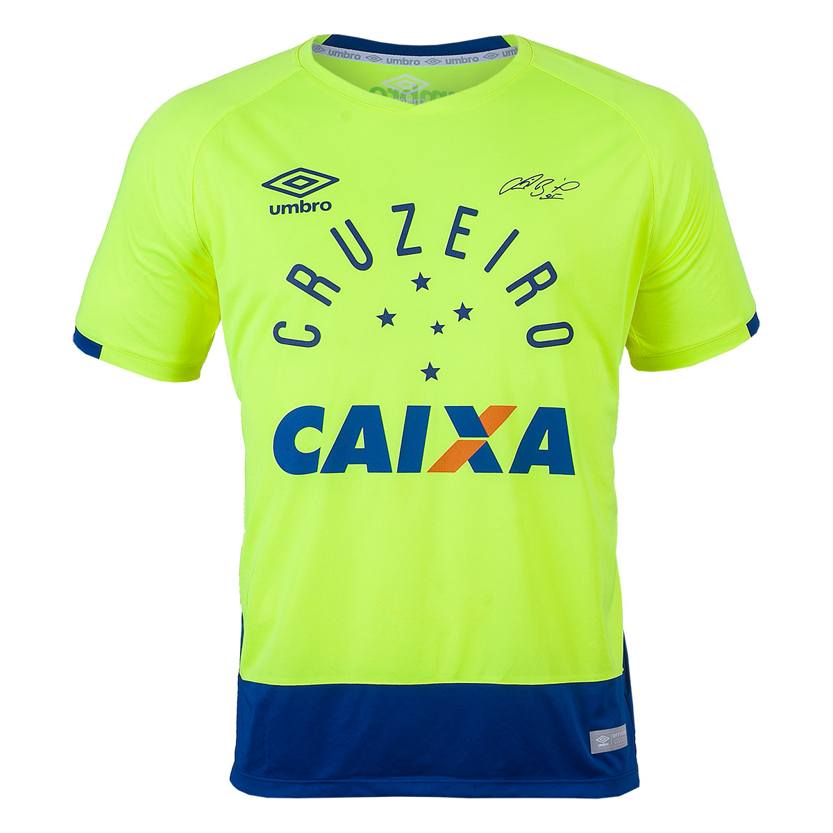 Camisa Masc. Umbro Gole. Cruzeiro 2016 - Verde Vibrante