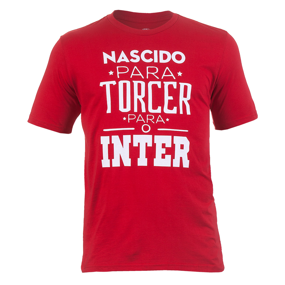 Camiseta Masc. Internacional Casual - Vermelho