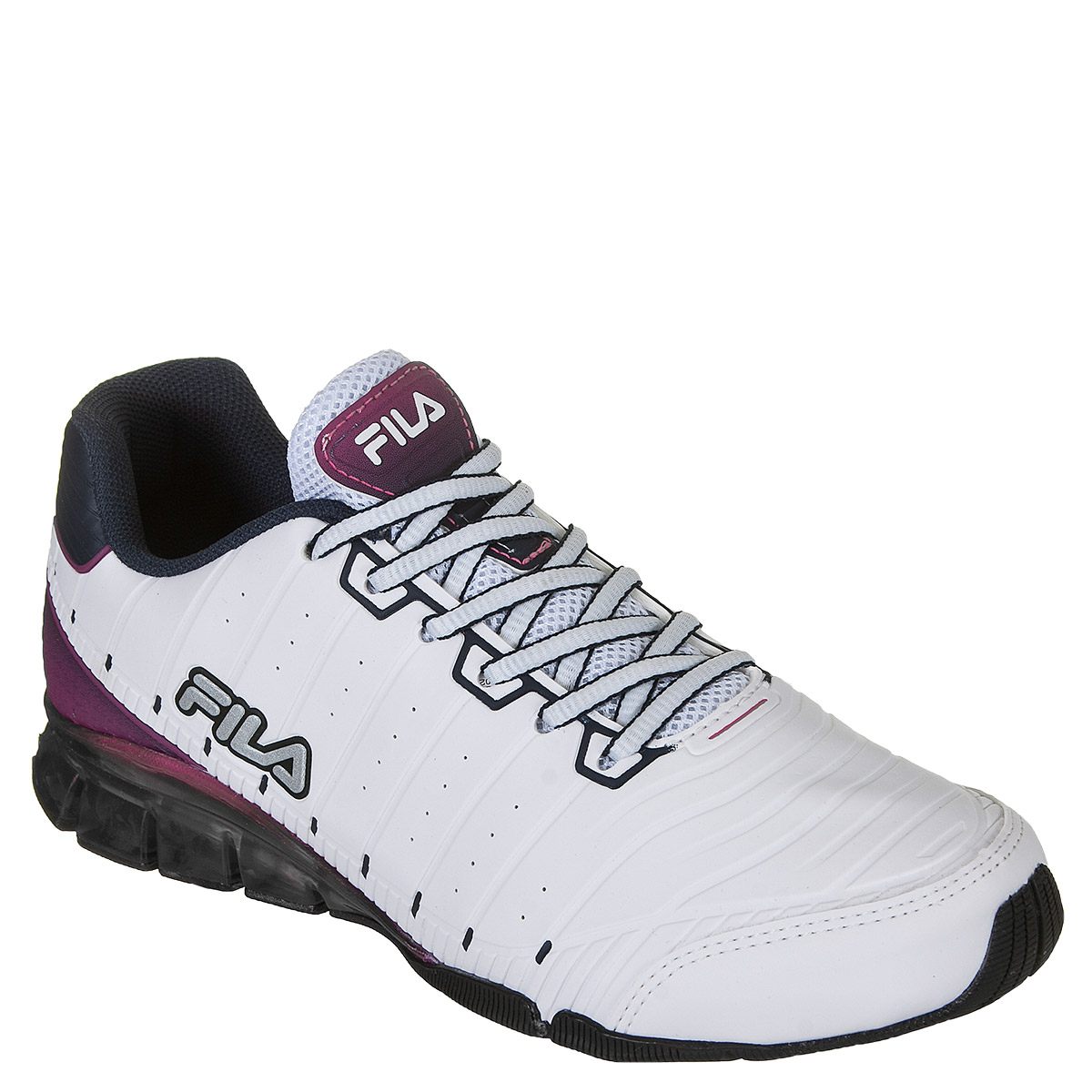59599416c77 Tênis Fila Sequential Feminino - Branco Rosa