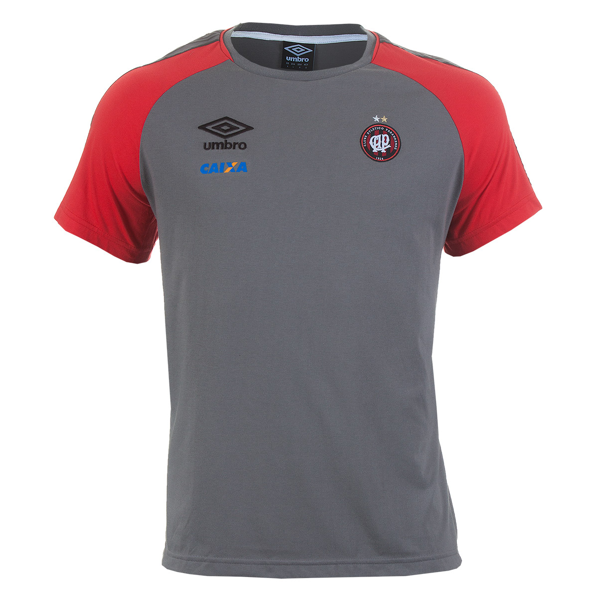Camisa Masc. Umbro Concentração Atletico Paranaense 2017 2 Casual - Cinza/Vermelho