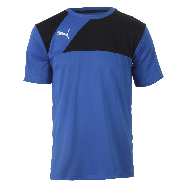 Camiseta Masc. Puma Training Jersey - Azul/Preto