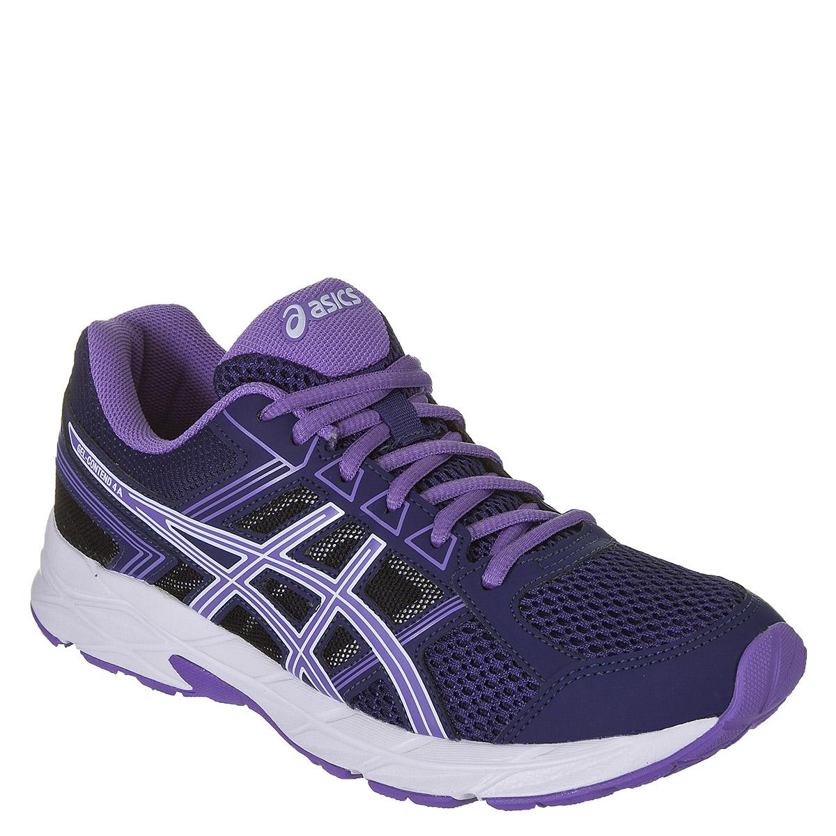 Tênis Asics Gel Contend 4 Feminino - Azul/Púrpura