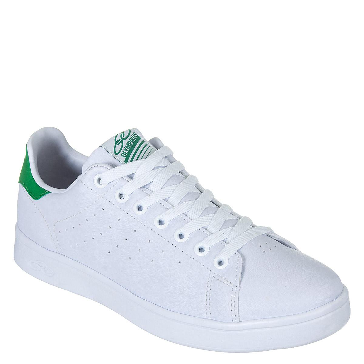 Tênis Olympikus Only Unissex - Branco/Verde
