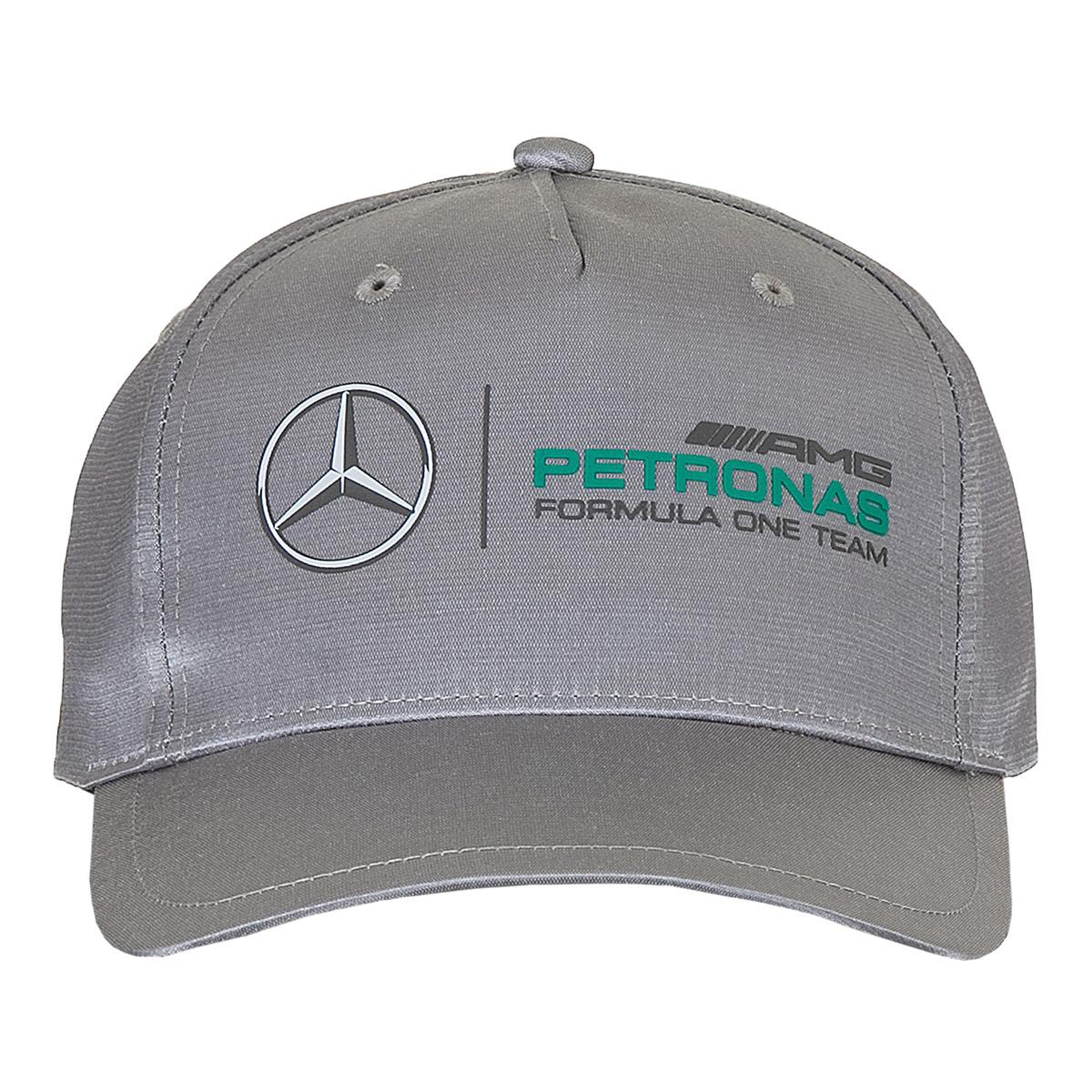 Boné Puma Mercedes Amg Petronas Unissex - Prata