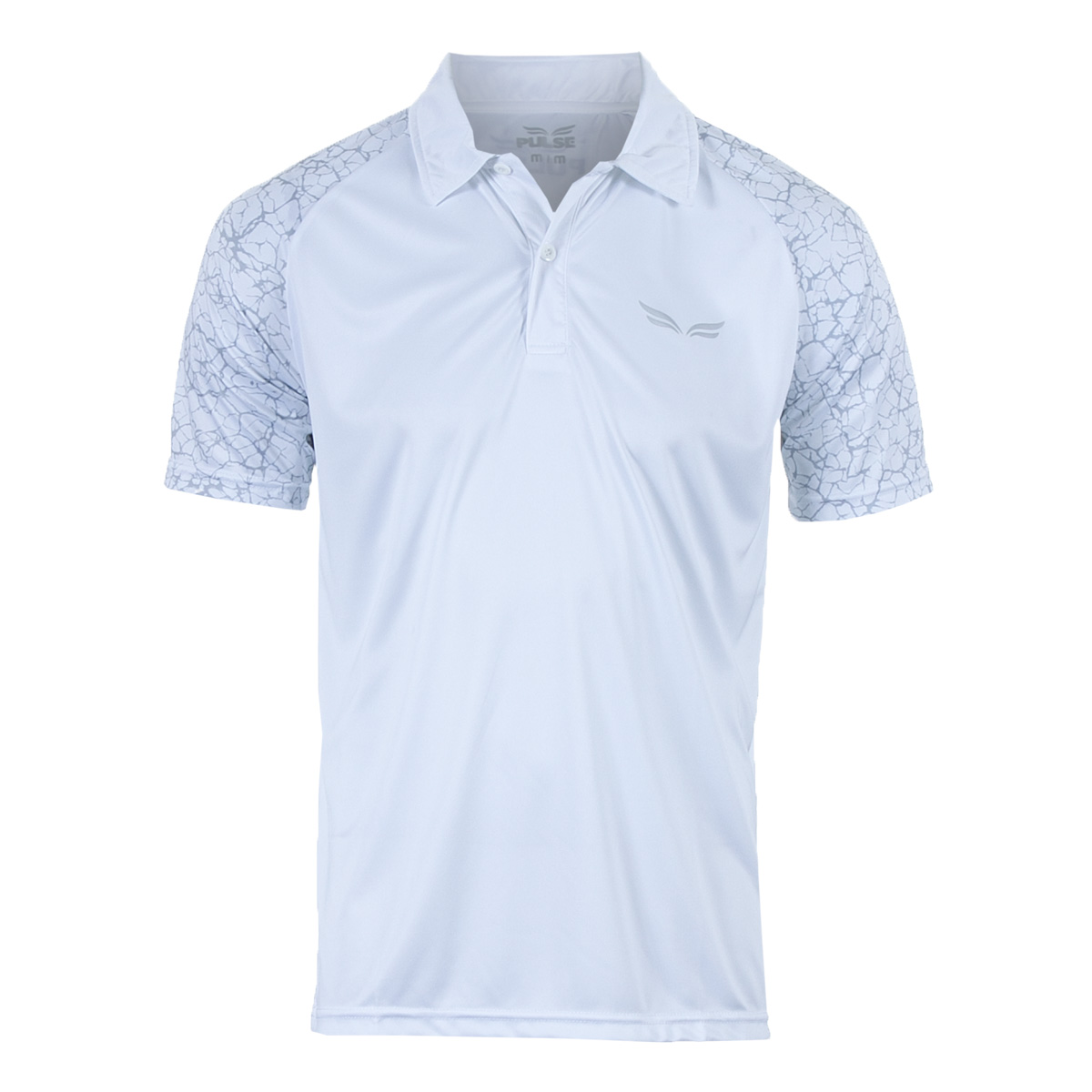 Camisa Polo Masc. Pulse Sports Casual - Branco