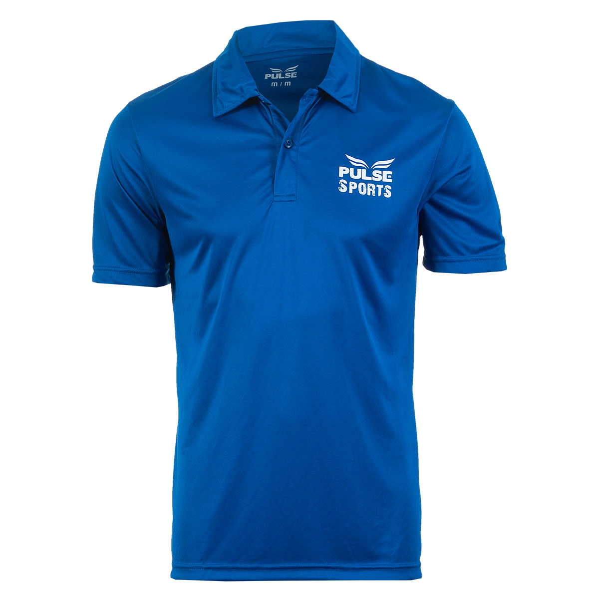 Camisa Polo Masc. Pulse Sports Casual - Azul