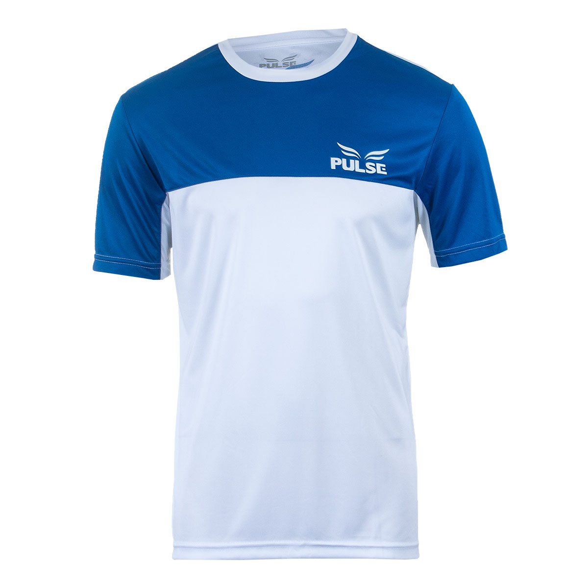 Camisa Masc. Pulse Sports Casual - Branco/Azul