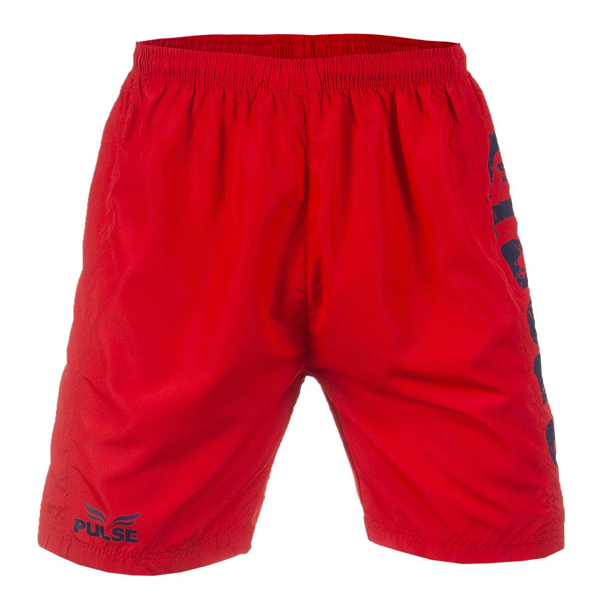 Bermuda Masc. Pulse Sports Casual - Vermelho
