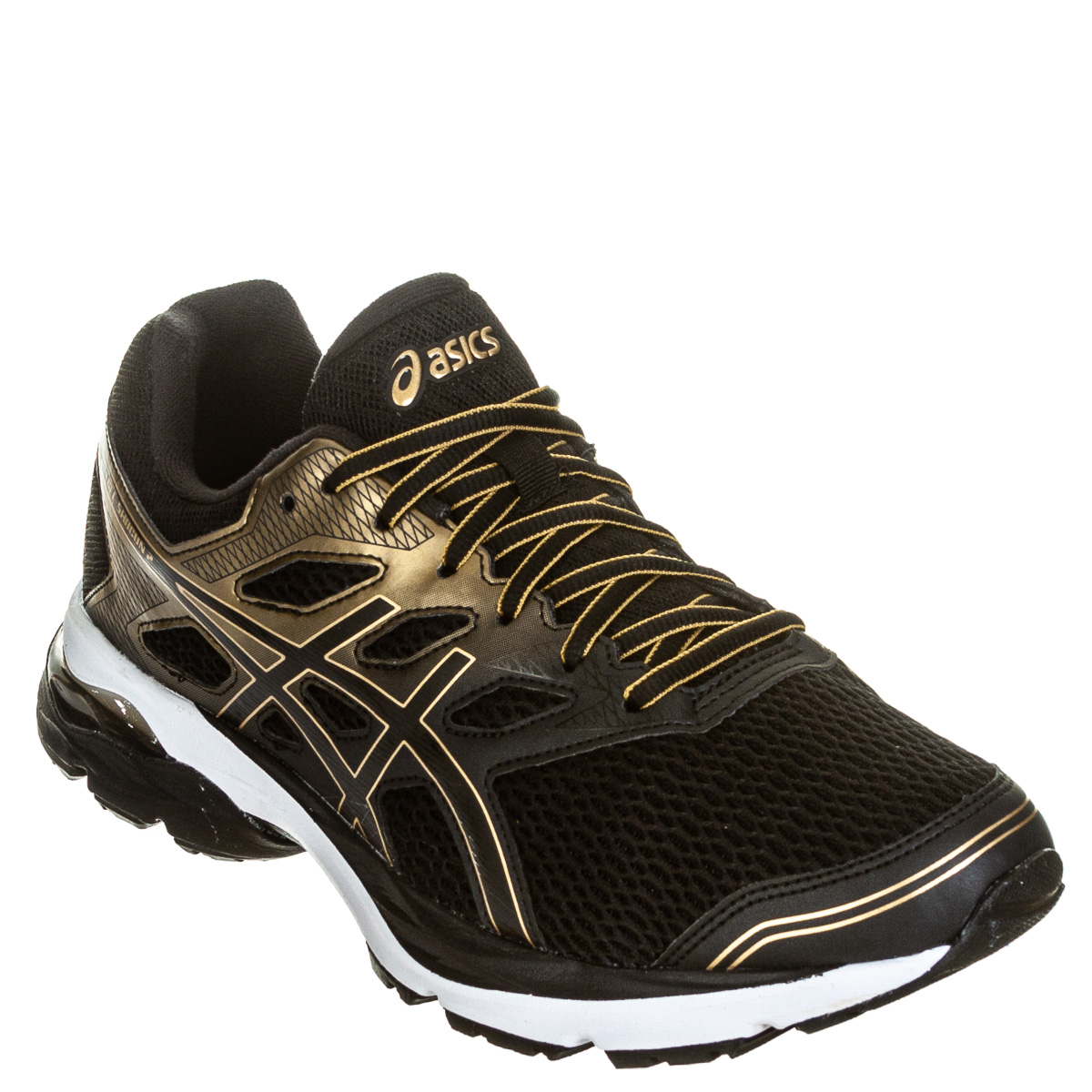 Tênis Asics Gel Shogun 2 Masculino Corrida - Caminhada - Preto/Dourado